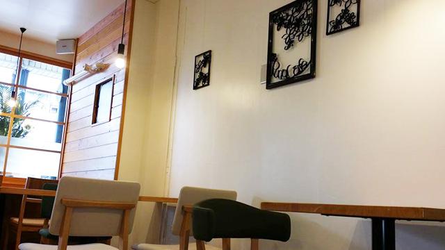 ルナカフェの内観